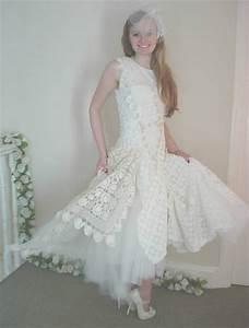 12 crochet wedding dresses for those summer weddings With crochet wedding dress