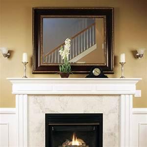 Custom size mirror over fireplace - Contemporary - austin