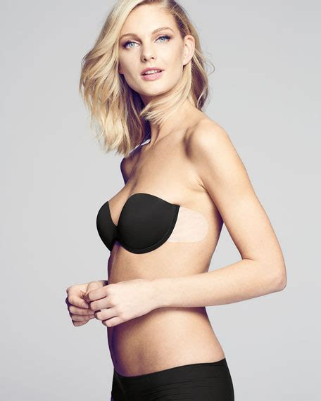 fashion forms  bare backlessstrapless push  bra