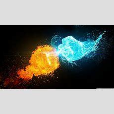 Fire Vs Ice 4k Hd Desktop Wallpaper For 4k Ultra Hd Tv • Wide & Ultra Widescreen Displays