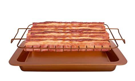 gotham steel bacon bonanza pan groupon goods