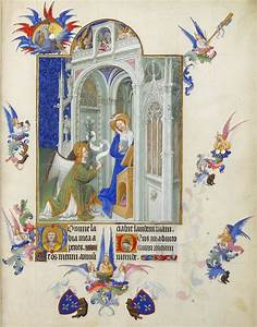 The, Annunciation, -, Limbourg, Brothers