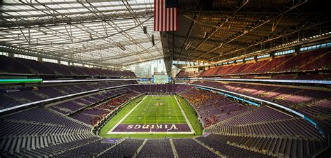 bank stadium  minneapolis prepares  host super bowl lii