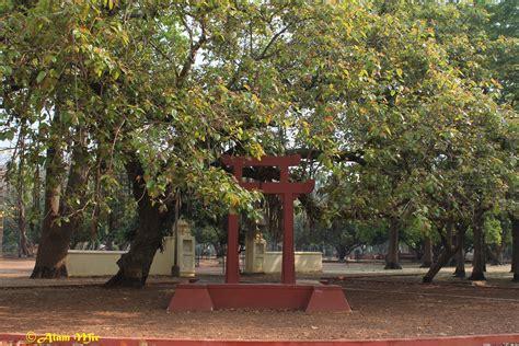 cozy nook monuments  santiniketan