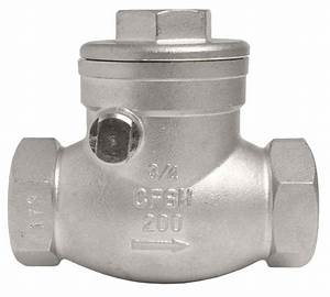 3  4 U0026quot  Stainless Steel  316  Swing Check Valve