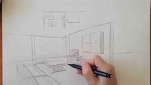 Perspektive Zeichnen Raum : zeichnen lernen akadmie ruhr tutorials r umliches zeichnen raum in perspektive youtube ~ Orissabook.com Haus und Dekorationen