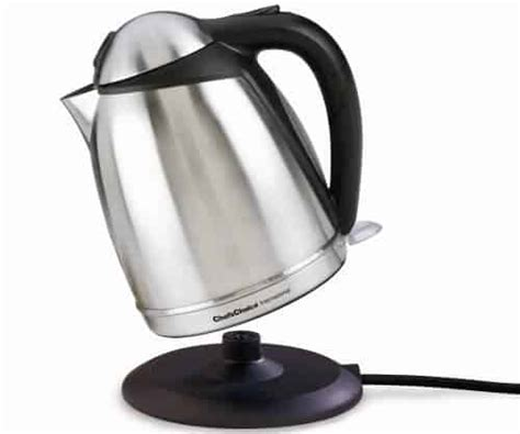 electric kettle kettles rated choice chef cordless