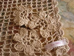 Crochet En S : las violetas tejidos cortinas tejidas al crochet ~ Nature-et-papiers.com Idées de Décoration