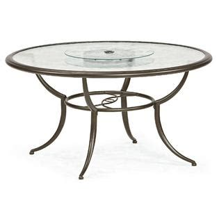 lazy susan for umbrella table jaclyn smith cora dining table with lazy susan outdoor