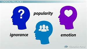 Logical Fallacies  Appeals To Ignorance  Emotion Or