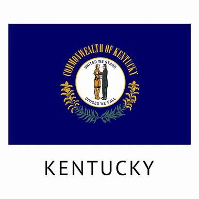 State Kentucky Flag Transparent Vexels Svg