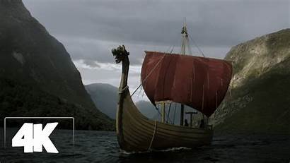 Vikings Ship Floki 4k Season