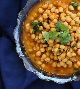Chana Masala - Chickpea Curry with Red Bell Pepper. Vegan ...