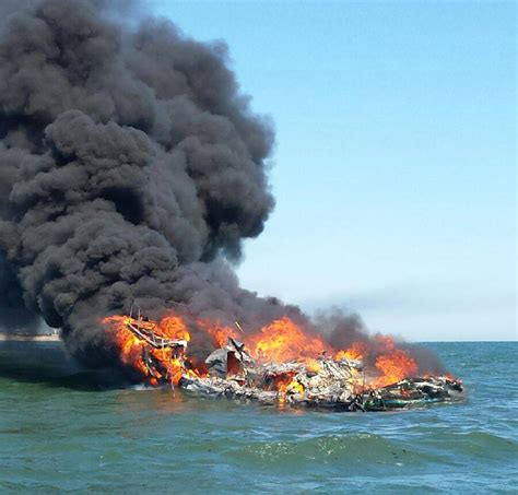 Bc Fire Boat by 3 Rescued From Burning Boat Off Long Island Coast Guard