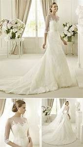 15 wedding dresses perfect for church weddings pronovias With church wedding dresses