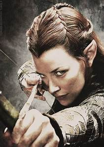 tauriel hair tauriel archery pinterest awesome the movie and