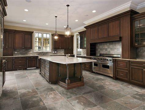 tiled kitchen floors ideas kitchen tile floor ideas best kitchen floor material