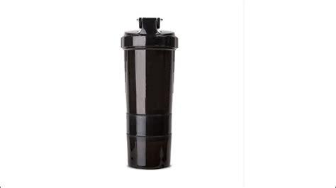 Pp Blank Sports Bottle With Silk Screen Measure Line