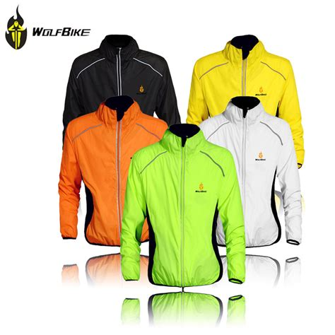 best cycling wind jacket aliexpress com buy wolfbike cycling jersey men riding