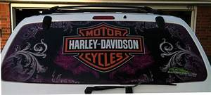 harley davidson window perf window graphics wraps With kitchen cabinets lowes with harley davidson stickers decals