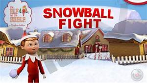 Snowball Fight Elf on the Shelf ® Christmas Game - iPhone ...