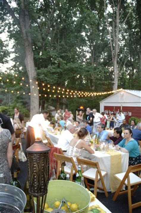 backyard wedding reception the backyard wedding part ii rustic wedding chic