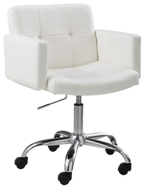white modern desk chair churchill office chair white modern office chairs