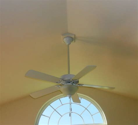 adding a ceiling fan to a room installing ceiling fans for vaulted ceilings modern