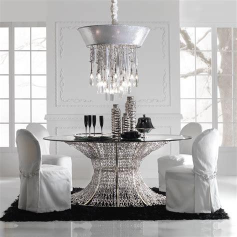 unique silver metallic fabric ceiling light