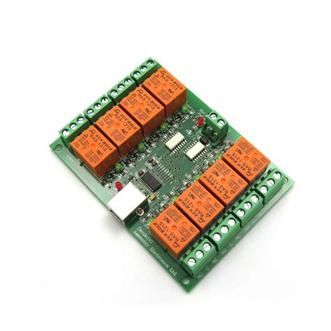Usb Eight Channel Relay Board For Automation Ebay