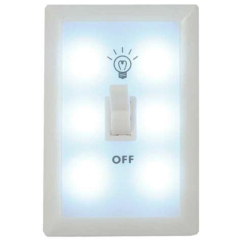 battery powered led light panda wall switch light nightlight 6 led