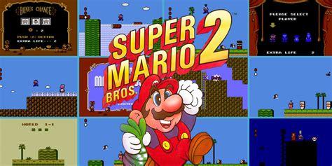 Super Mario Bros 2 Nes Games Nintendo