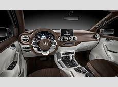 2017 Mercedes Benz X Class Pickup Truck Interior Wallpaper