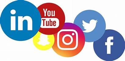 Social Logos Marketing Transparent Background Clipart Company