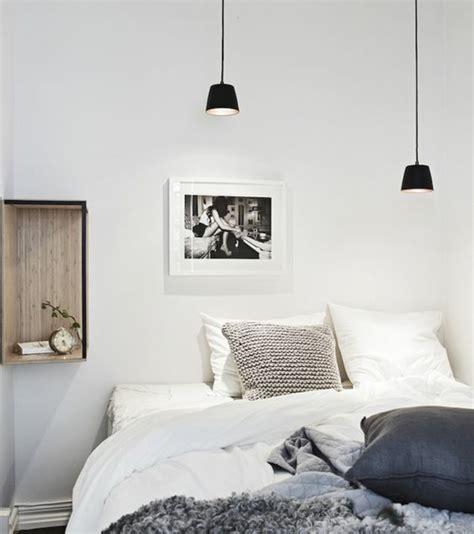 luminaire suspendu chambre a coucher 1001 idées pour une le de chevet suspendue dans la