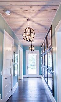 foyer lighting ideas Transitional Beach House - Home Bunch Interior Design Ideas