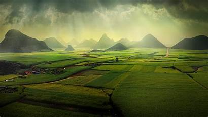 Spotlight Windows Luoping China Yunnan Fields Canola