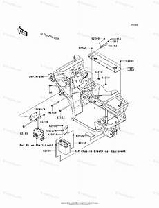Kawasaki Side By Side 2015 Oem Parts Diagram For Engine