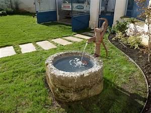 Fontaine A Eau Exterieur : bassin et fontaine de jardin my preziosa ~ Carolinahurricanesstore.com Idées de Décoration
