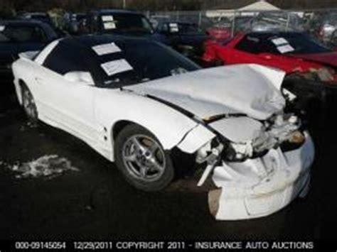 salvage pontiac firebird cars  sale  auction