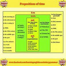 Prepositions Of Time Examples  Undervisning  Pinterest Engelsk