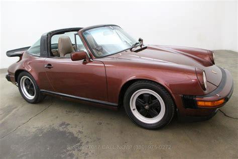 1986 porsche targa for sale 1986 porsche 911 carrera for sale 34 750 1469859