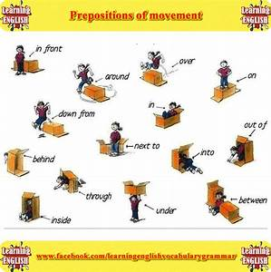 Prepositions Of Movement  With Images