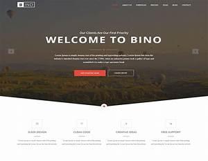 Bino Free HTML5 Landing Page Template ReadyTheme