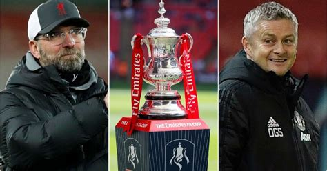 FA Cup draw: Liverpool, Manchester United and Arsenal ...