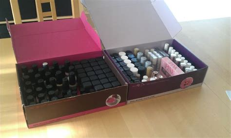 ma collection de vernis pots et flacons