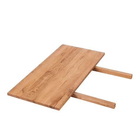 Ansteckplatte Eiche Massivholz Für Tomano Esstisch Tisch