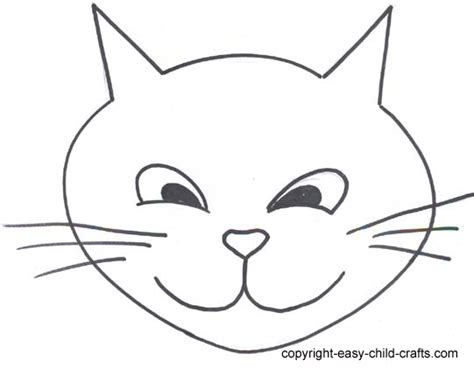 free cat face template download free clip art free clip