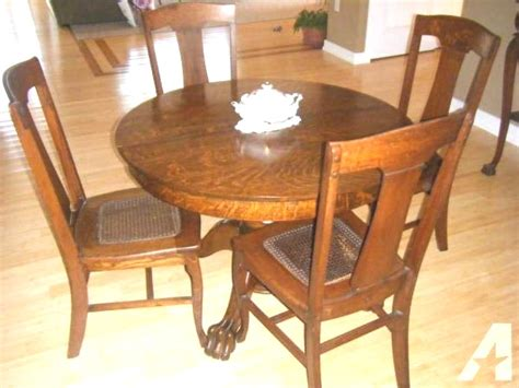 Amazing 50 Antique Oak Dining Table And Chairs For Sale
