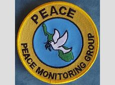 Peace Monitoring Group Bougainville Deployment Patch